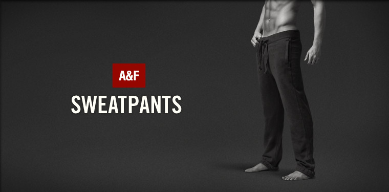 Shop mens sweatpants from Abercrombie & Fitch.