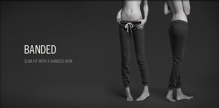 Shop Abercrombie & Fitch Banded Sweatpants for women.