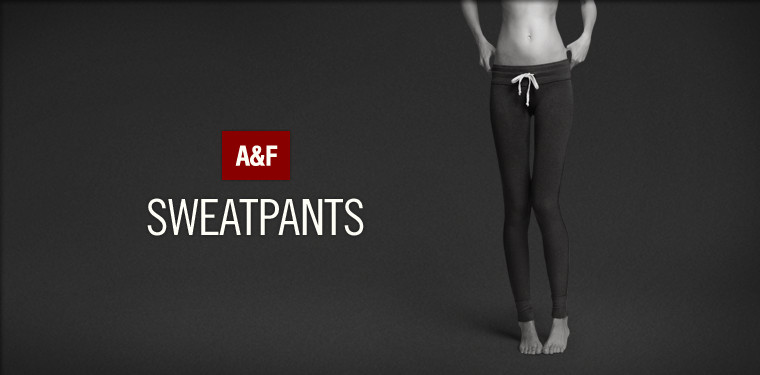 Shop Abercrombie & Fitch Sweatpants for women.