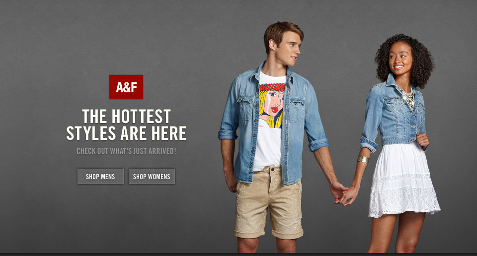 Shop A&F's hottest new arrivals in stores and online!
