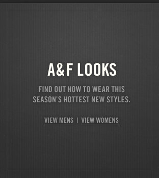 Shop A&F's hottest summer looks!
