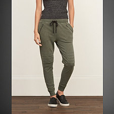 A&F Slouchy Joggers
