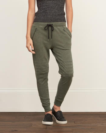 Womens A&F Slouchy Joggers
