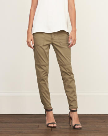 Womens Military Woven Pants