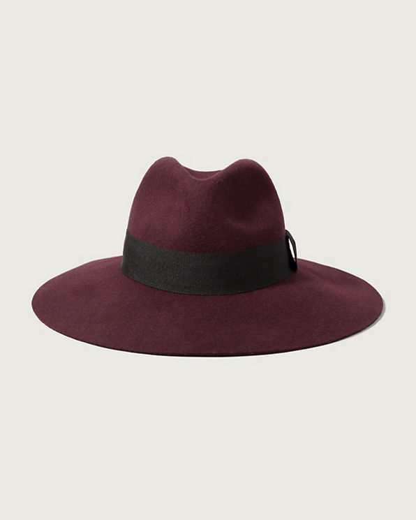 womens felt wide brim hat womens accessories