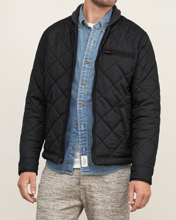 Discover the range of quilted jackets for men at ASOS. Shop our collection of padded and puffer jackets in formal and casual styles today. your browser is not supported. Pull&Bear padded ma1 bomber in black. $ New Look hooded puffer jacket in black. $ adidas Originals Quilted Superstar Jacket In Red DH $