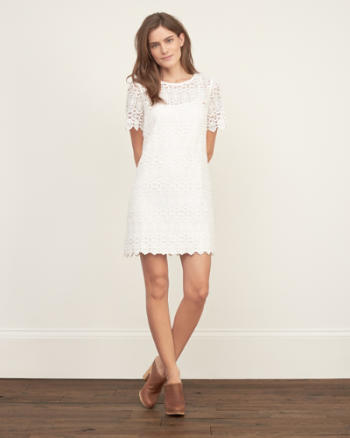 Womens 1892 Heritage Collection Lace Shift Dress