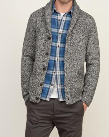 Abercrombie Männer Pullover Grau