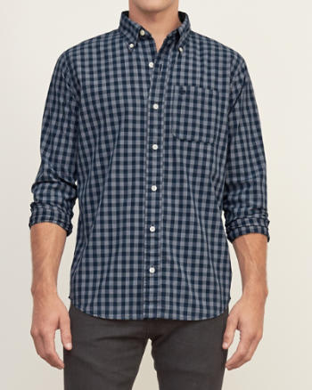 Mens Classic Fit Check Shirt