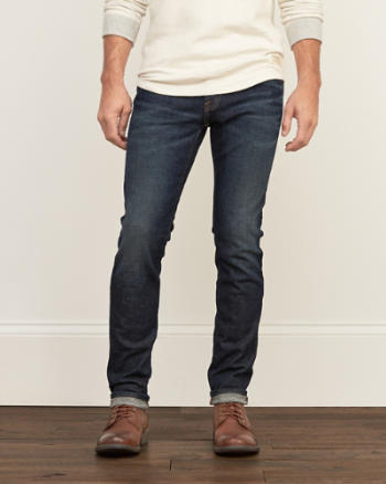 Mens Skinny Everyday Stretch Winter Jeans