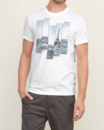 Mens Travel Graphic Tee
