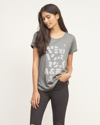 Womens Logo Graphic Tee