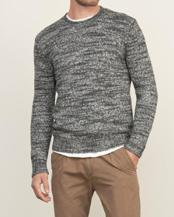 Mens Crew Sweater