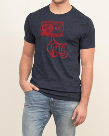 Mens Statement Graphic Tee