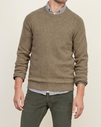 Mens Brushed Wool Sweater