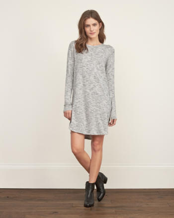 Womens Cozy Pocket Dress