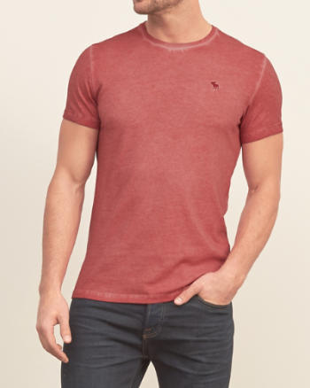 Mens Iconic Garment-dyed Tee