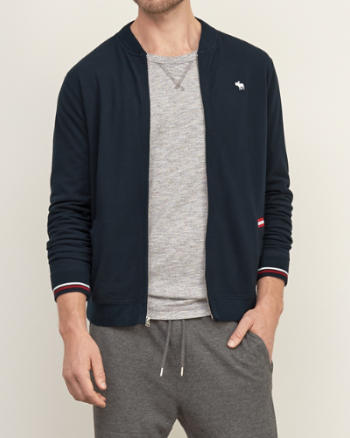Mens Tipped Track Jacket