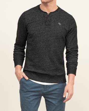 Mens Rugged Icon Henley