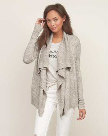 Womens Easy Cardigan Sweater