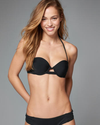 Womens Perfect Push-Up Bandeau Top