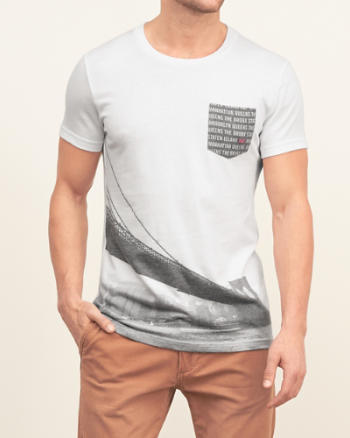Mens Graphic Pocket Tee