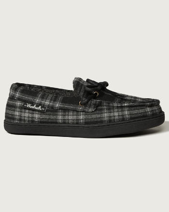 Mens Woolrich Lewisburg Moccasin Slippers