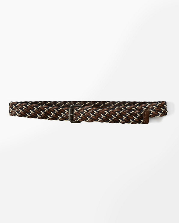 mens braided leather belt mens accessories abercrombie