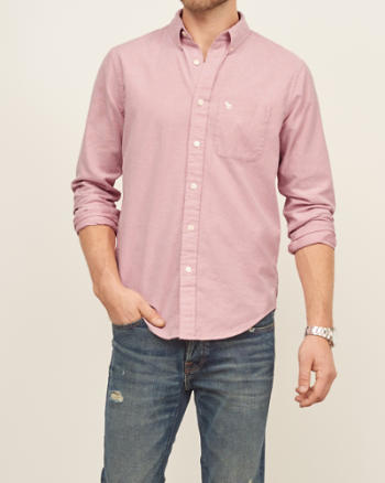 Mens Iconic Oxford Shirt