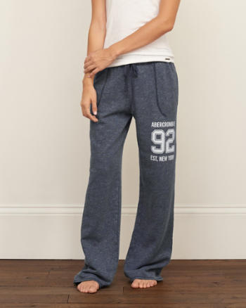 Womens A&F Boyfriend Sweatpants