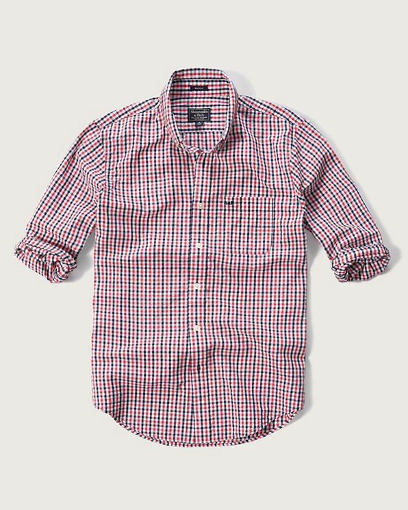 Mens check seersucker shirt mens clearance for Mens seersucker shirts on sale