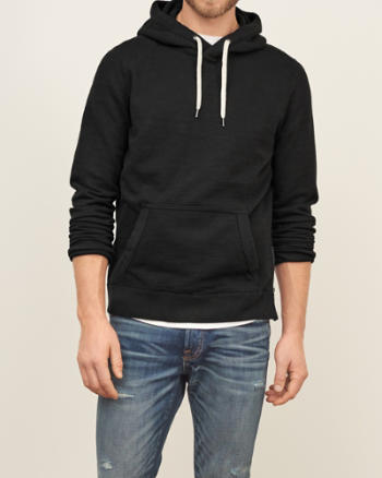 Mens Side-Zip Fleece Hoodie