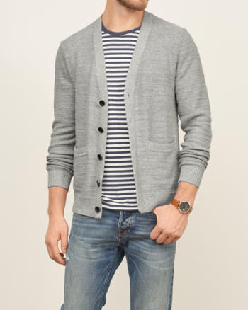 Mens Cotton Cardigan