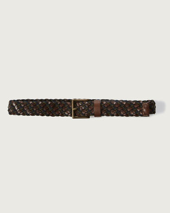 Mens Classic Braided Belt