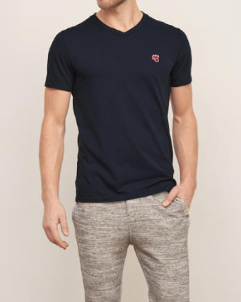 Mens Heritage Icon V-Neck Tee
