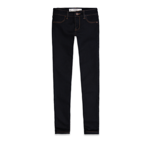 Womens A&F Super Skinny Ankle Jeans