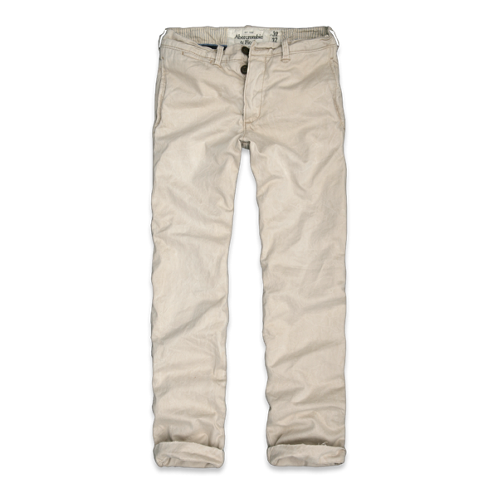 Mens The A&F Slim Straight Chino
