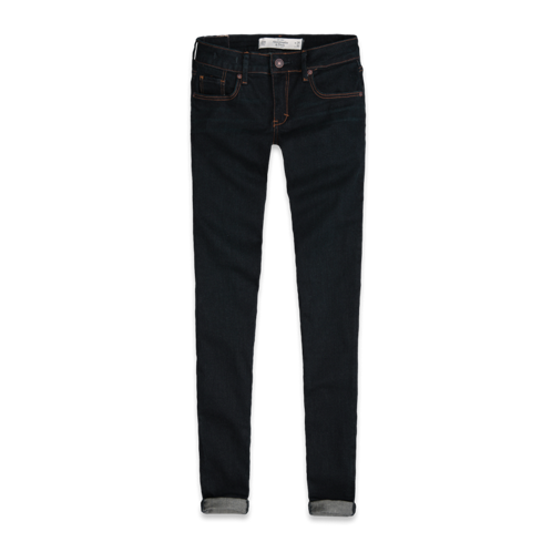 Make An Impression A&F Mid Rise Super Skinny Jeans