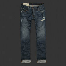 Mens The A&F Slim Straight