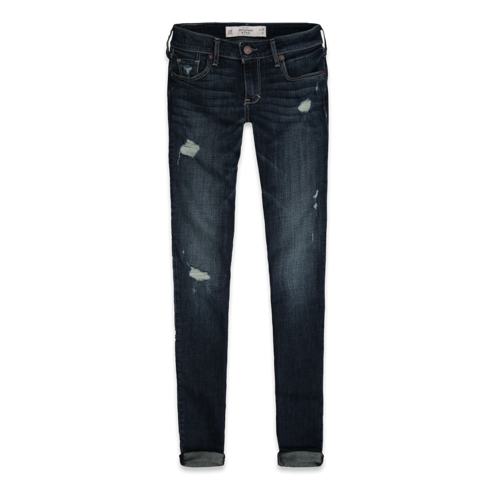 Make An Impression A&F Super Skinny Jeans