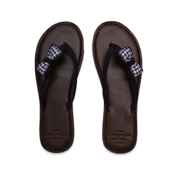 Heritage Leather Flip Flops