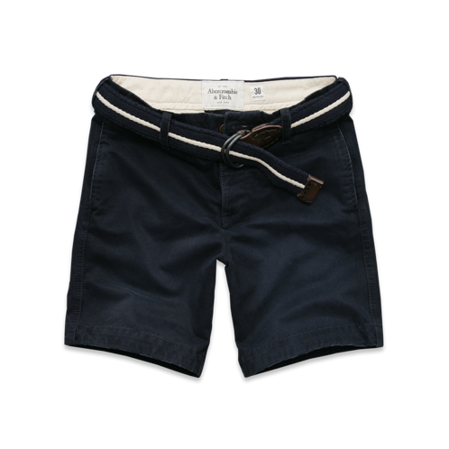 Mens A&F Preppy Fit Shorts