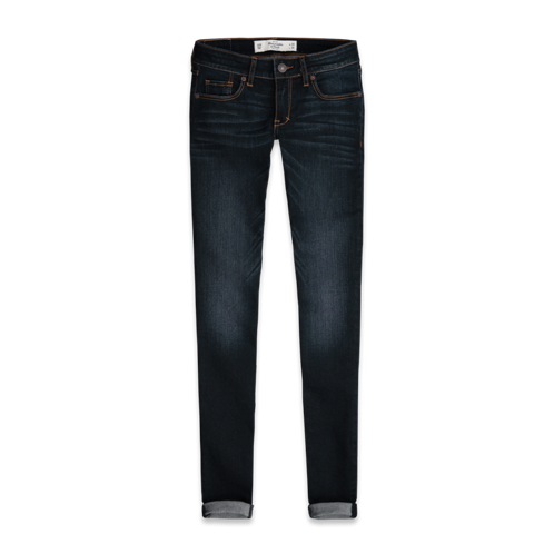 DELETE Cozy Up A&F Super Skinny Jeans