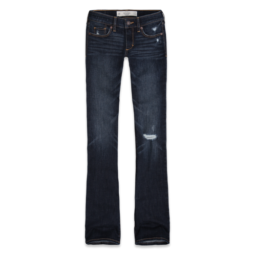 Womens A&F Boot Jeans