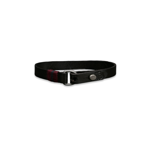 Mens Classic Leather Bracelet
