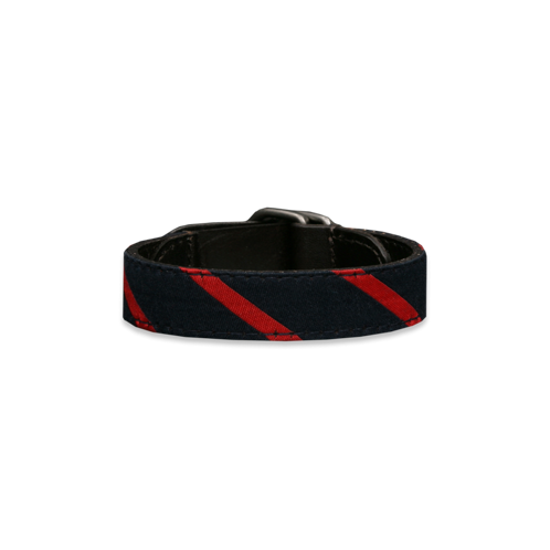 Mens Preppy Striped Bracelet