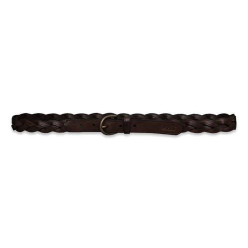 Accessories Braided Leather Belt
