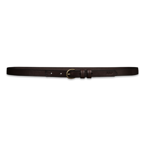 Womens Skinny Leather Belt