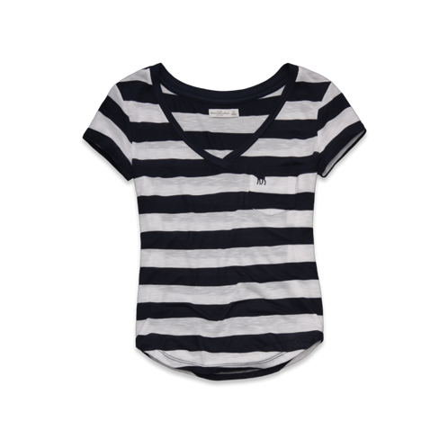 STRIPES Katrina Tee