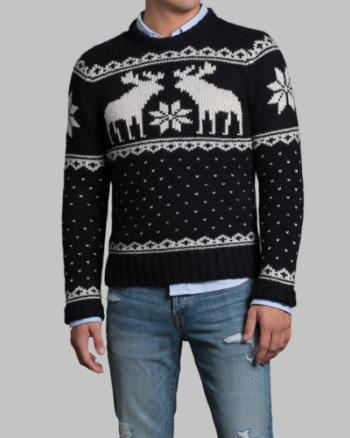 Mens Wallface Mountain Sweater